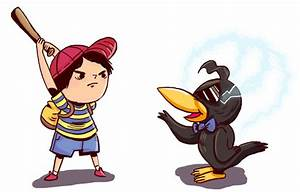 Ness and Spiteful Crow | I really want to play this game ...