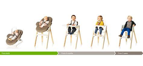 chaise évolutive stokke stokke innove avec sa chaise pour bébé révolutionnaire