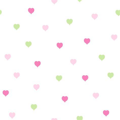 hearts green pink wallpaper departments diy  bq