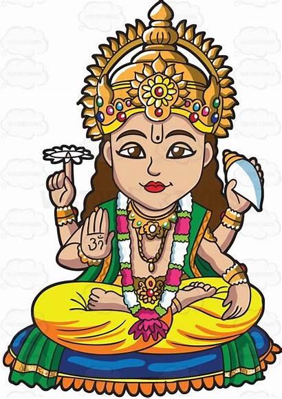 Clipart Deities Hindu Gods Goddess Hinduism Surya