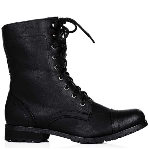 black lace up biker boots buy gina flat lace up zip biker ankle boots black leather