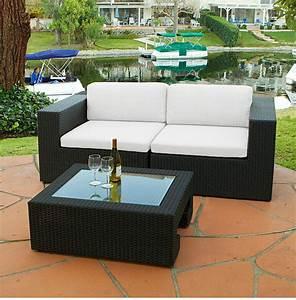 Canape De Jardin Resine : salon canape fauteuil pot mobilier meubles de jardin en resine tressee maroc magasin ~ Teatrodelosmanantiales.com Idées de Décoration