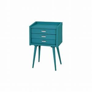 Table De Chevet Fly : table chevet bleu ~ Teatrodelosmanantiales.com Idées de Décoration