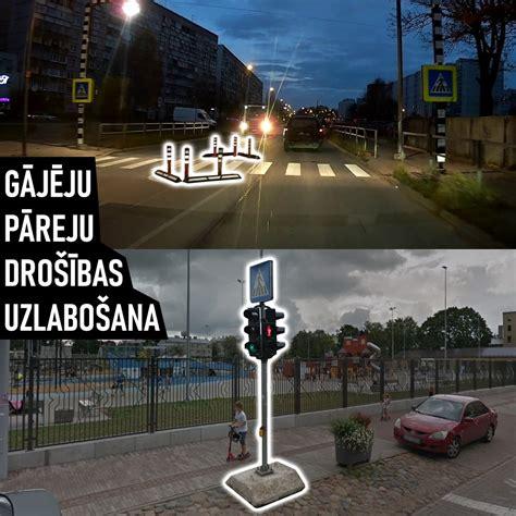 Pilsēta cilvēkiem: В Риге 97 опасных пешеходных переходов. Есть простые решения, как уберечь ...