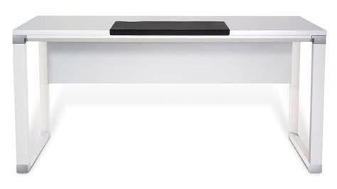 white executive office desk white lacquer 71 quot delano executive desk zuri furniture