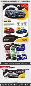 Car Rental Psd Flyer Template  25514
