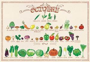 Calendrier Fruits Et Légumes De Saison : voici le calendrier des fruits l gumes d 39 octobre ~ Nature-et-papiers.com Idées de Décoration