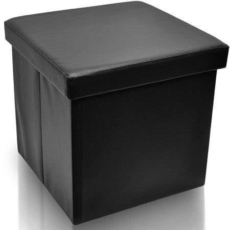 Foldable Storage Ottoman by Sorbus Foldable Storage Ottoman Collapsible Folding Cube