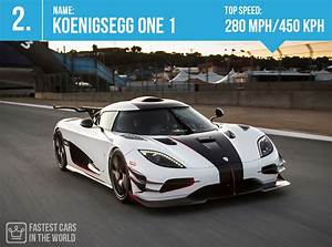 Fastest Cars in the World 2017 (Top Speed) - Alux.com