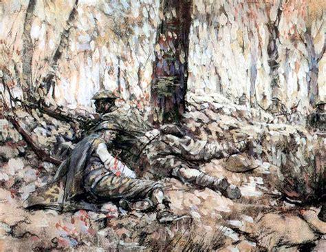 world war  art  combat artists  unwritten record