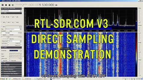 Rtl-sdr.com V3 Direct Sampling With Hpf Demonstration