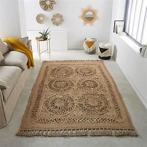 Tapis Boheme Chic : quel style de tapis choisir pour une d co boh me blueberry home ~ Teatrodelosmanantiales.com Idées de Décoration