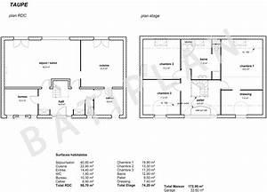plans et permis de construirenotre plan de maison taupe With plan maison a construire