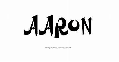 Aaron Tattoo Designs Male