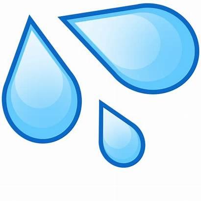 Water Drop Clipart Drops Emoji Flash Transparent