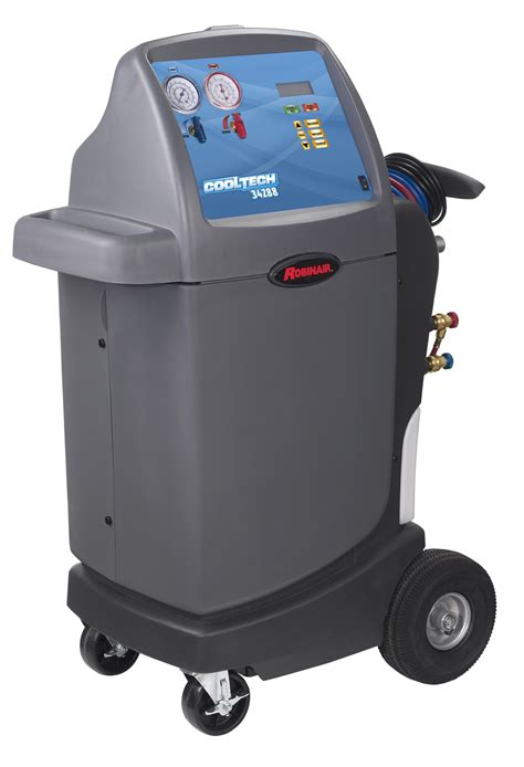 cool tech  ac recover recycle recharge machine