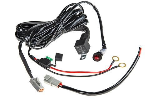 Led Light Wiring Harness With Weatherproof Switch