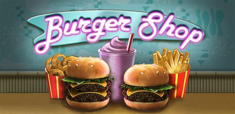 jeu de cuisine hamburger burger shop amazon fr app shop pour android