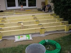 Lame Composite Pour Terrasse Leroy Merlin : terrasse bois kit leroy merlin ~ Zukunftsfamilie.com Idées de Décoration