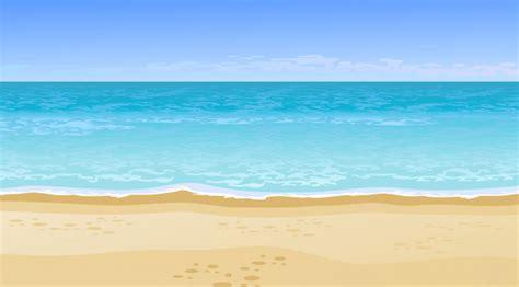 Vista Para O Mar Lindo Realista. Conceito De Férias De