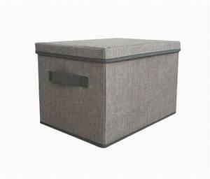 Aufbewahrungsbox Stoff Mit Deckel : hti line aufbewahrungsbox mit deckel paloma otto ~ Orissabook.com Haus und Dekorationen