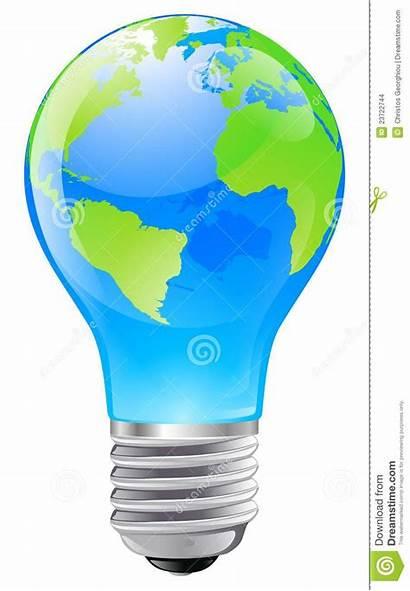 Globe Bulb Clipart Concept Illustration Clip Dreamstime