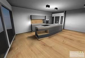 Kuche innsbruck beton eiche schreinerei for Küche beton