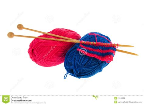 knitting tools stock photography image