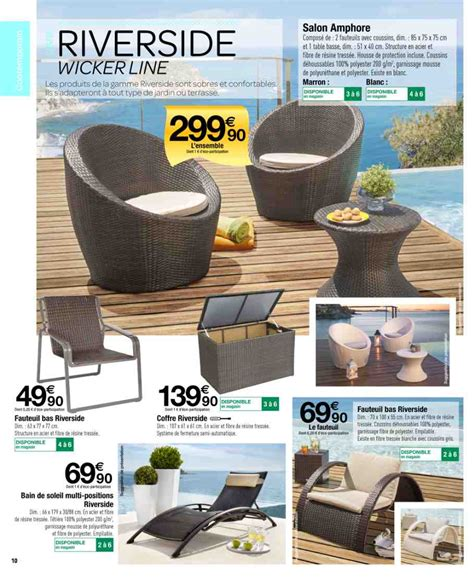 Tonnelle Salon Jardin Catalogue Carrefour 25 Mars 31 Mai