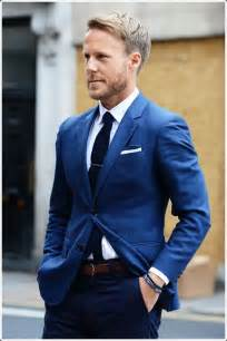 Royal Blue Men's Suit