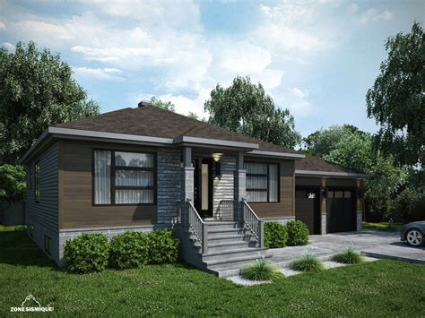 modele maison moderne plain pied maison moderne