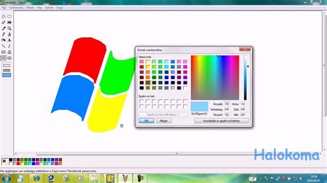 Best Free Paint Program For Windows 7 How To Draw Easy Windows Logo On Mspaint In 1 Minute