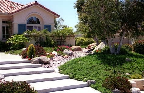 xeriscape front yard xeriscape entry