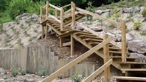 Construire Un Escalier Extérieur En Bois by Un Escalier Ext 233 Rieur En Bois Comment Faire Le Bon Choix