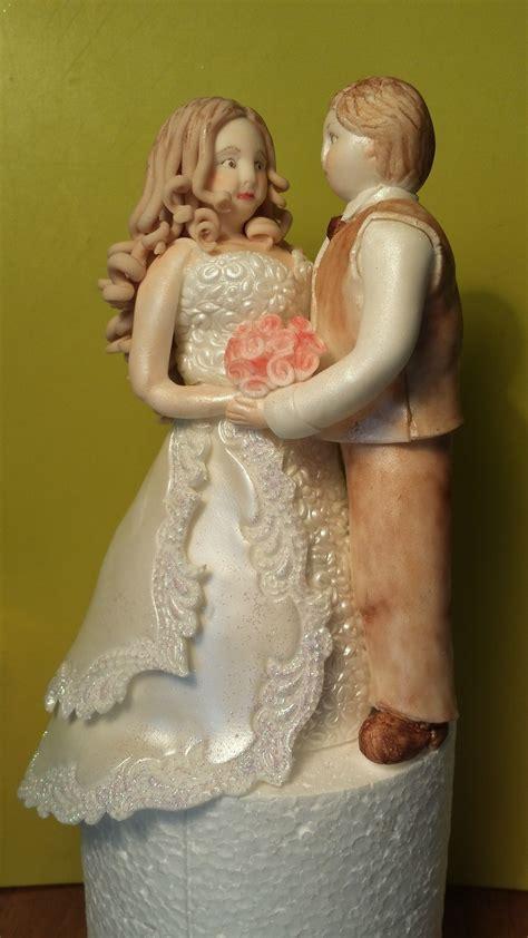 bride  groom cake topper cakecentralcom