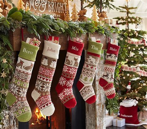 Pottery Barn Kids Christmas Stockings and Advent Calendars
