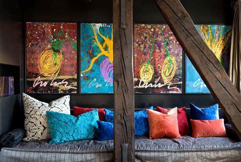 contemporary eclectic interior design   venice home