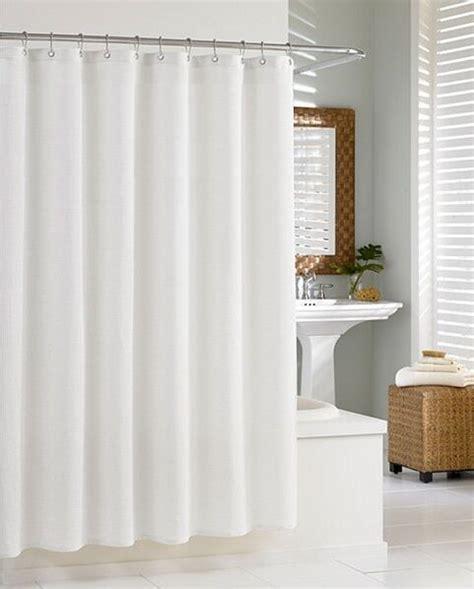 Plain White Shower Curtain - plain white 100 polyester shower curtain with 12 hooks 180