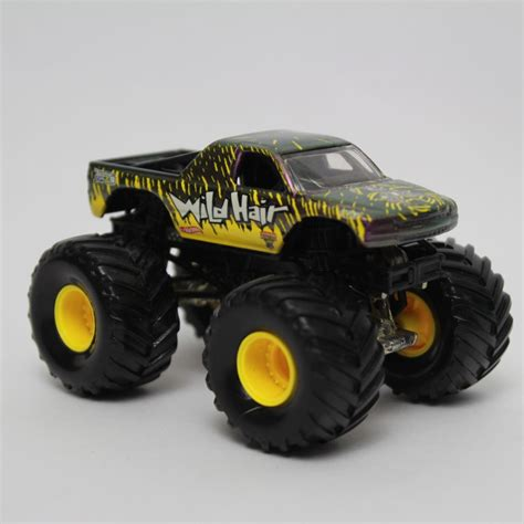 monster jam toys trucks wheels monster jam wild hair 3 1 2 monster truck toy