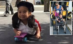 California Girl With Legs Uses Skateboard After Thieves