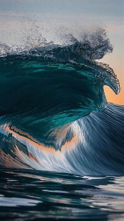 Wave Samsung J7 Wallpapers 4k Galaxy Nature