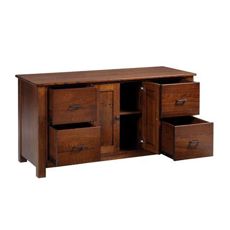Y & T Mission 60″ Credenza  Stewart Roth Furniture