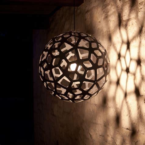 coral lampe contemporaine en bois pour cuisine salon