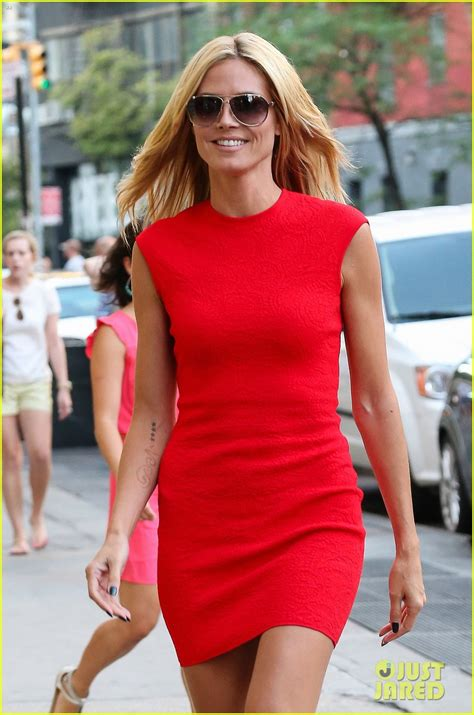 Heidi Klum Red Hot Soho Before America Got Talent