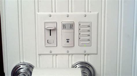 wall switch won t turn off bathroom ceiling fan