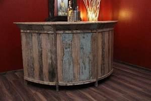 Bar Tresen Theke : bar theke tresen schrank 184cm vintage antik holz massiv hausbar garten wein ebay ~ Sanjose-hotels-ca.com Haus und Dekorationen