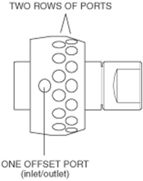 Valco SF Flowpath Selector - Low Pressure