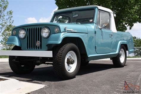 kaiser jeep jeepster commando pickup   paint ownership history