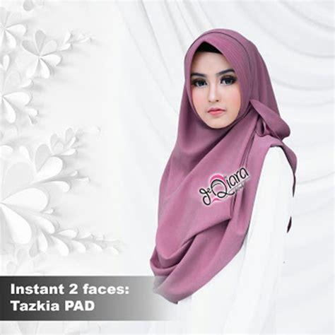 jilbab pashmina jilbab instan 2faces tazkia pad model 2018 harga murah
