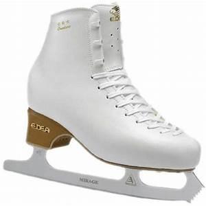 EDEA Overture Ivory Jnr Figure Skate with Blades